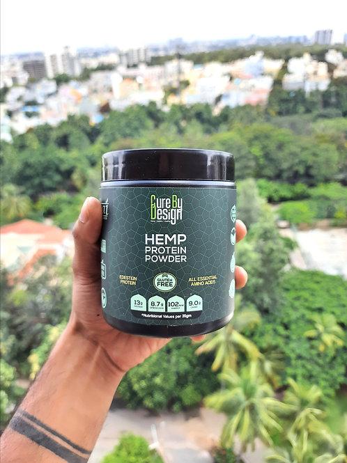Cure By Design Hemp Protein Powder