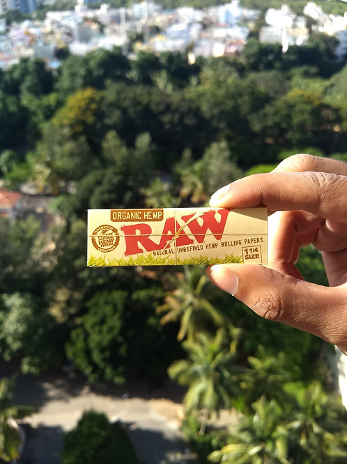 Raw Organic 1 1/4 Hemp Papers