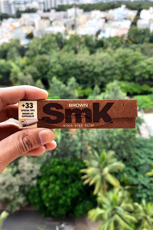 SMK Brown King Size + Tips