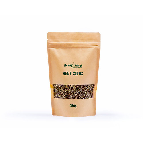 Hemplanet's Raw Hemp Seeds (250g)