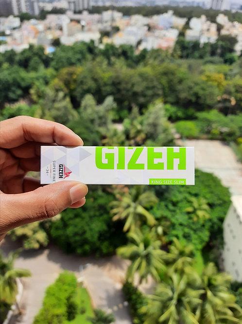 GIZEH King Size Slim Super Fine/Magnet Seal