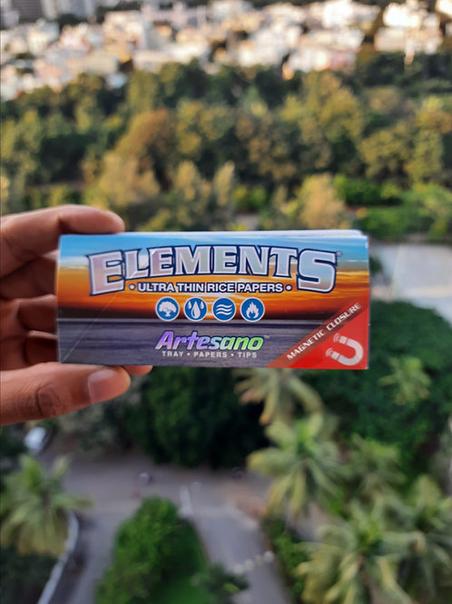 Elements Artesano Ultra Thin Rice Papers (Tray + Papers + Tips)
