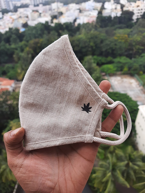 100% Hemp Masks From Cure By Design