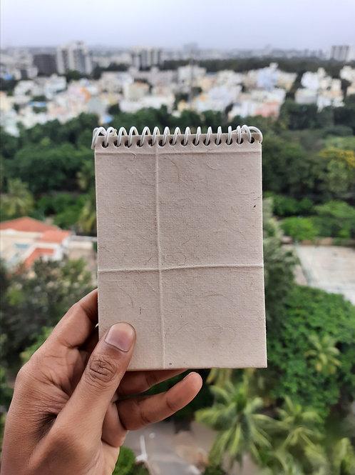 Be Hemp's 100% Hemp Notepad