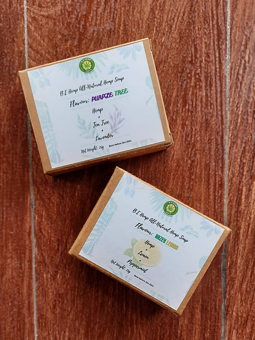 B.E  Hemp Originals All-Natural Hemp Soap
