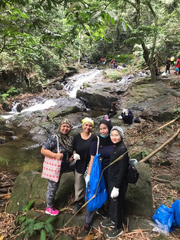 Volunteering Day - Gabai River Waterfall Cleaning and BBQ!!