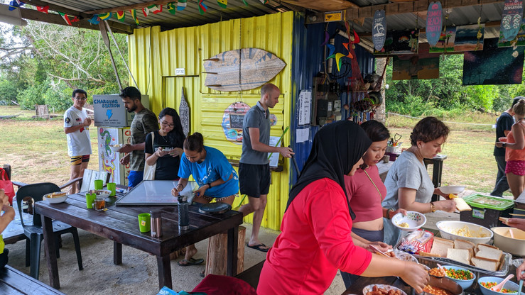 Beach Camping Party Cherating!!