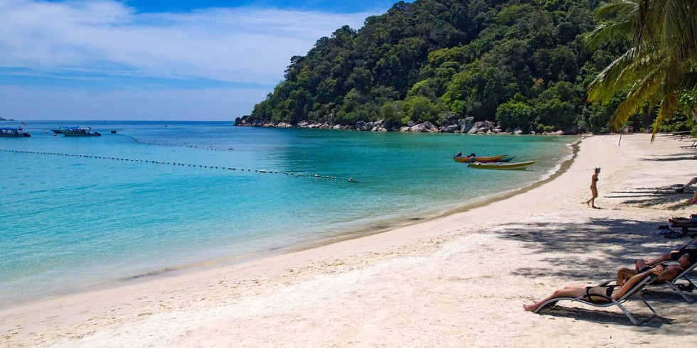 Perhentian Island Beach Camping Adventure!!