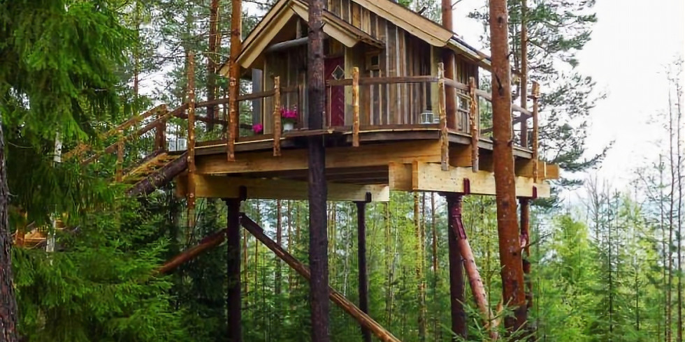Volunteering Day - Come build a fantastic treehouse with us and eat a BBQ!! !!