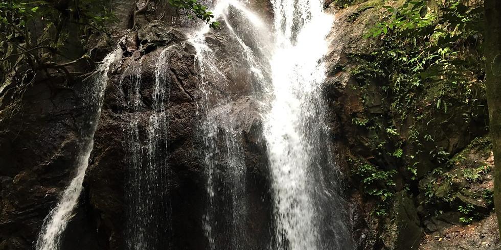 Pisang Waterfall Camping Adventure