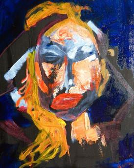 Eyes Wide Shut (Ruth Borchard Self Portrait Prize, Finalist) 2015