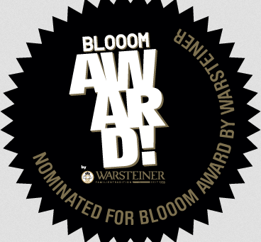 Shortlisted top 270 from over 1 500 BLOOOM 2015