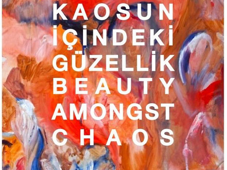 Beauty Amongst Chaos 2016 Solo show- Mine Art Gallery, Bodrum Turkey