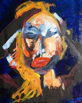 Eyes Wide Shut (Self portrait) 2015