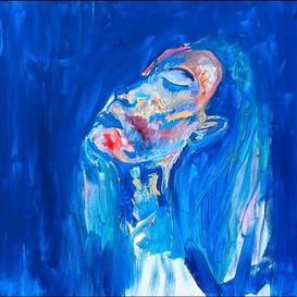 Into The Blue (self portrait) 2016