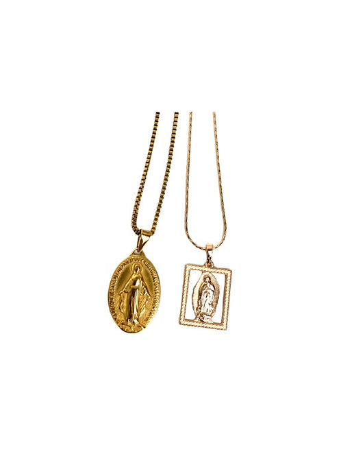 Two Pack Gold Necklace