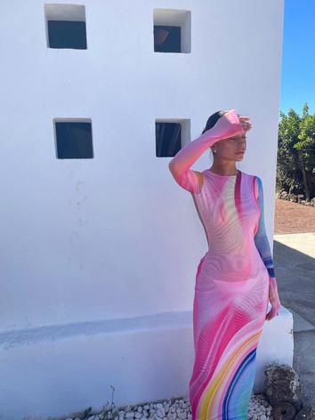 Summer Breeze Mesh Dress