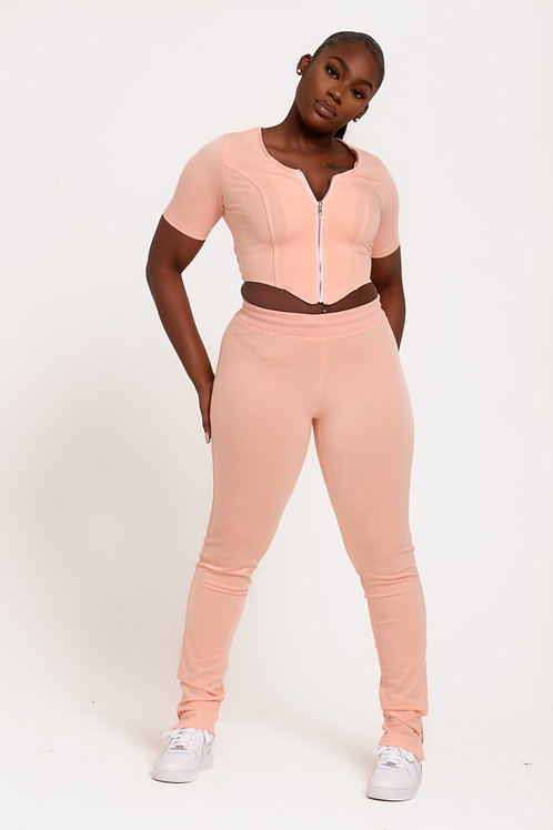 Pink Body Trousers
