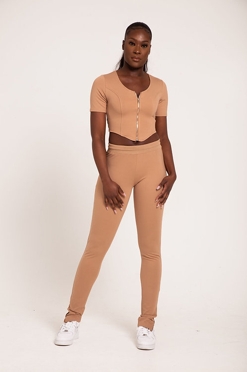 Tall Tan Body Trousers