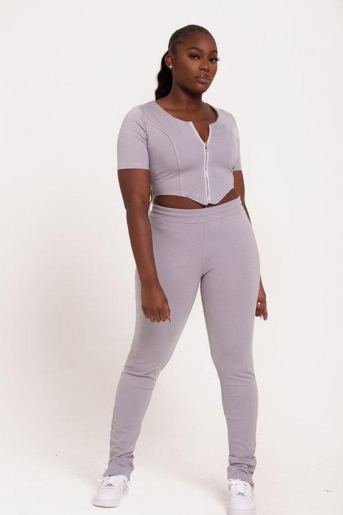 Grey Body Trousers