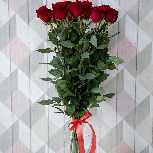 Роза 15шт (60см)