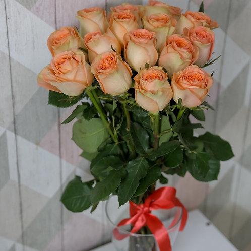 Роза 15шт(40см)