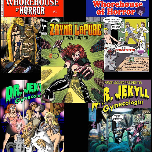 Get the entire digital library! Over 330 pages of comics!