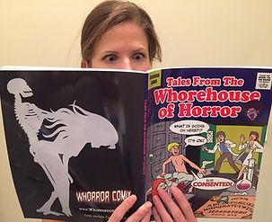 Viki reads WoH #1.jpg