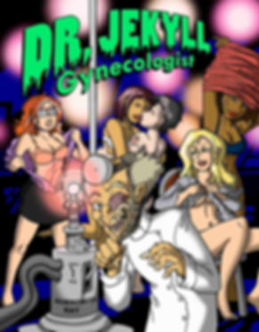 Dr. Jekyll, Gynecologist using his horny ray on sexy stripper girls