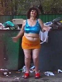 Ukrainian prostitute Baba Alla, oldest and ugliest whore in Ukraine