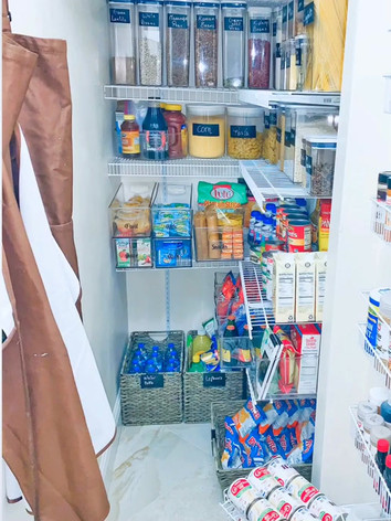 Before & After Pantry