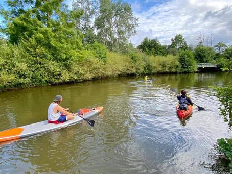 3 jours sur le canal d'Ille et Rance pour un petit challenge entre amis