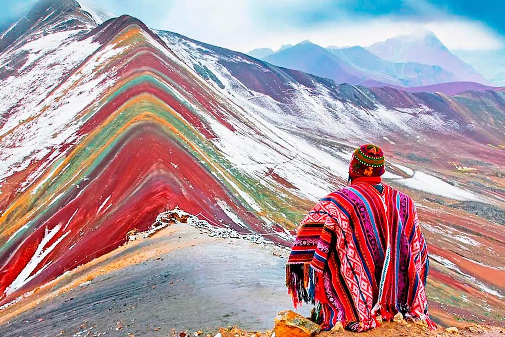 Peru Gökkuşağı Dağı