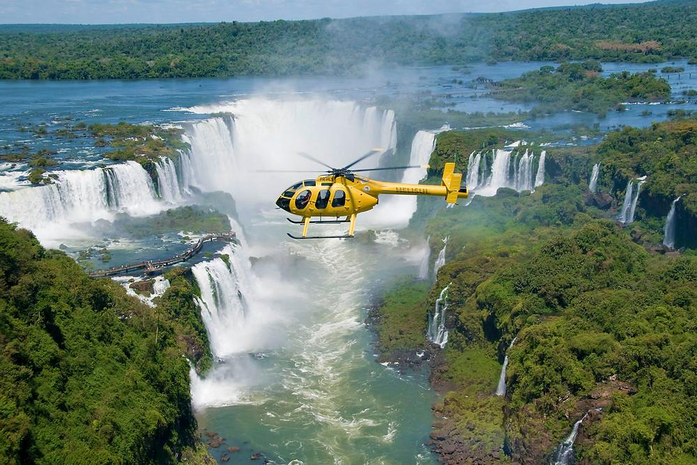 Arjantin, Brezilya Sınırındaki Iguazu Şelaleleri