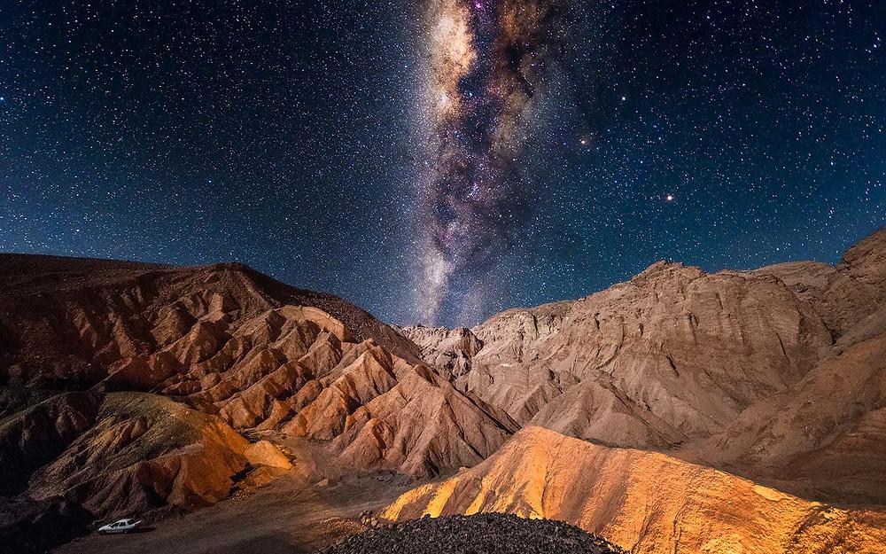Ay Vadisi, San Pedro de Atacama, Şili