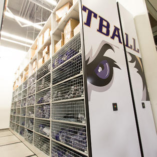 Athletic-equipment-stored-in-retractable