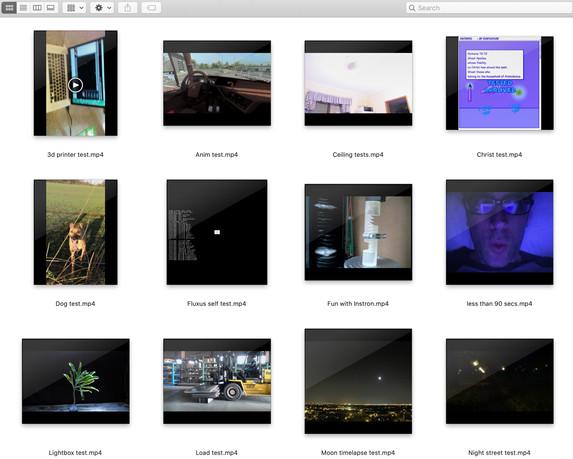 Flickr tests screenshot for website V2.j