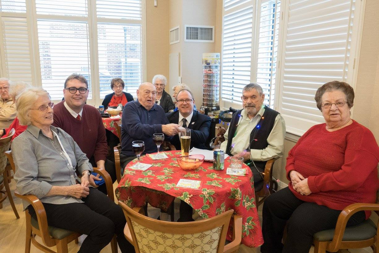 Eric joined Harmony Hills Residents for Elvis