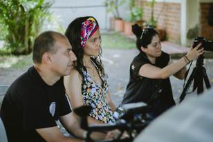 Juan Carlos Pino, Salomé Gómez y Keka Guzmán