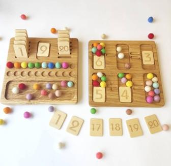 Math reversible Board