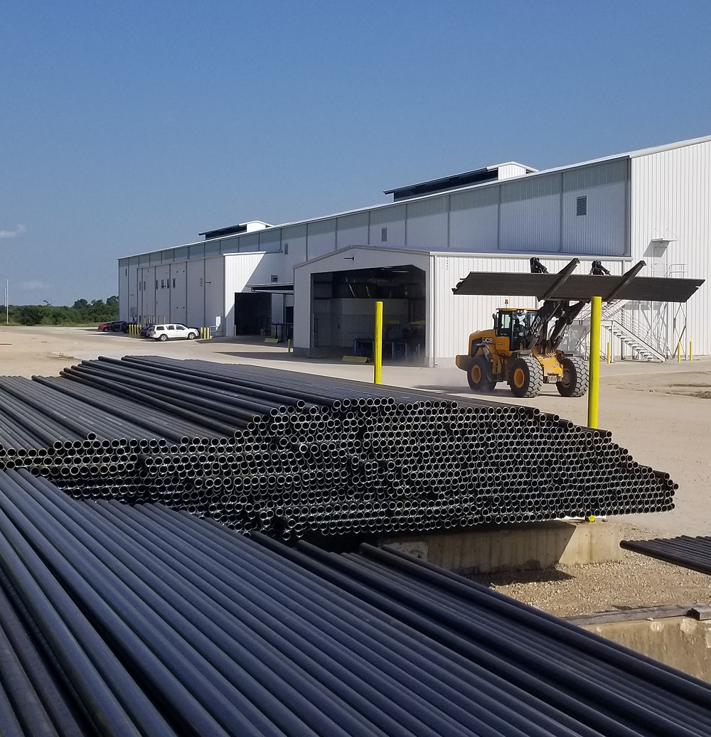 OCTG Pipe Photo Courtesy SeAH Steel USA New Tubing Mill