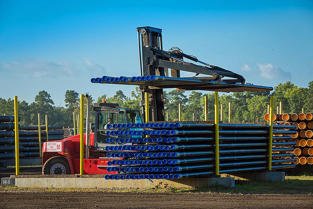 OCTG Pipe Photo Courtesy U.S. Steel Tubular Products