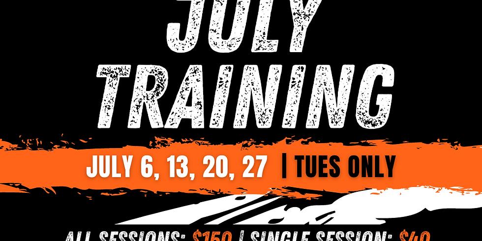 July Basketball Training