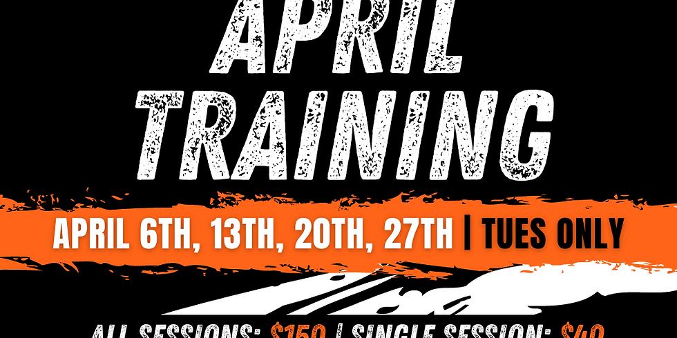 April Basketball Training