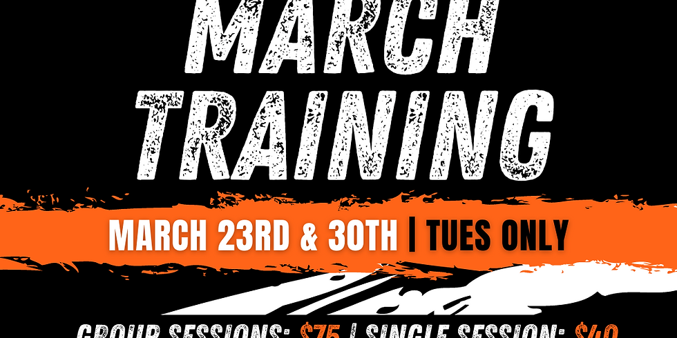 March Basketball Training