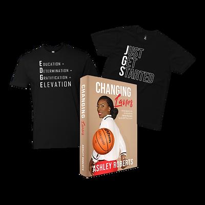 Two T-Shirts & Book Bundle