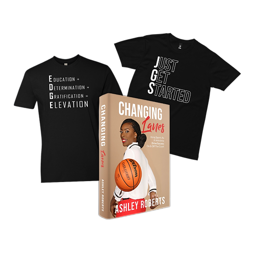 Two T-Shirts & Book Bundle