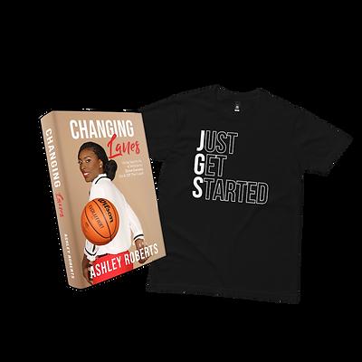 T-Shirt & Book Bundle