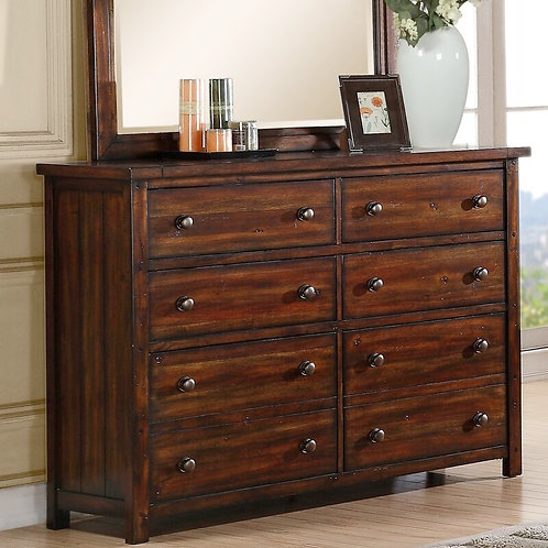 SOMBER CHEST OF DRAWERS