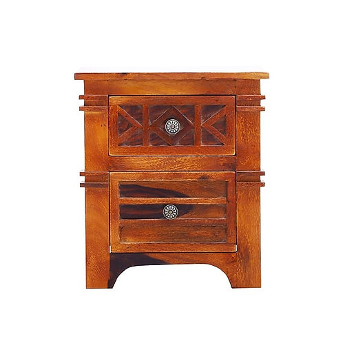 CAPITULATE BEDSIDE TABLE